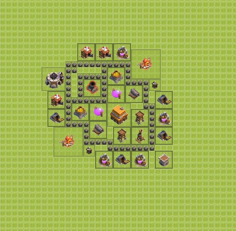Как сделать хорошую базу в clash of clans тх 4